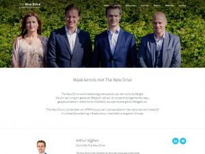 The New Drive Website 2015 - Over Ons