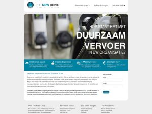 The New Drive website 2012 - 2015